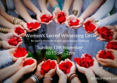 13thNovWomensWitnessingCircle
