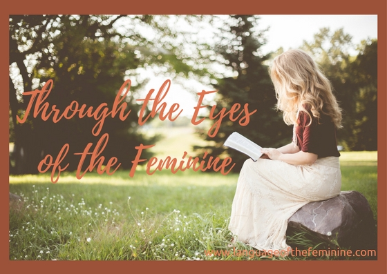 Through the Eyes of the Feminine with web